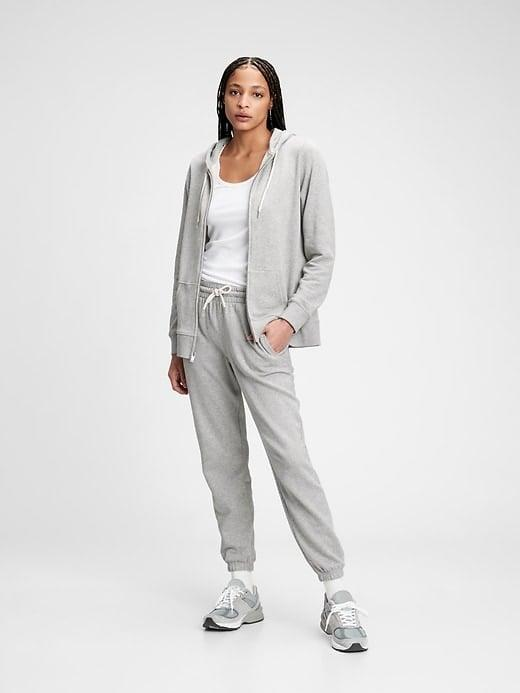 <p>Well, this <span>Gap Vintage Soft Classic Hoodie</span> ($32-$47, originally $55-$60) is iconic for a reason and there are matching <span>Gap Vintage Soft Classic Joggers</span> ($35-$50, originally $50-$55), too.</p>