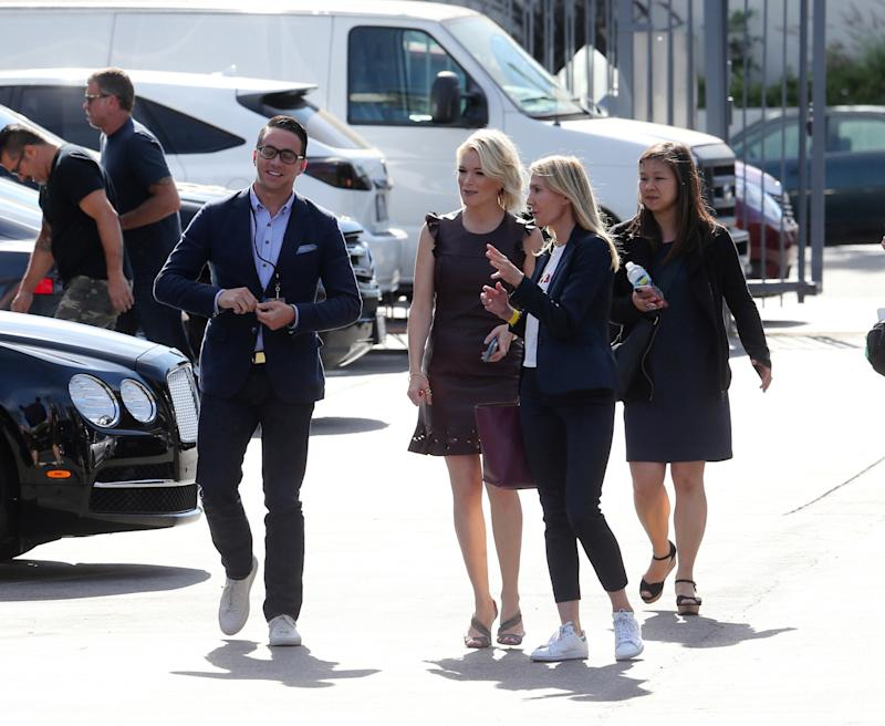 Megyn Kelly Spotted on the Set of Keeping Up With the Kardashians