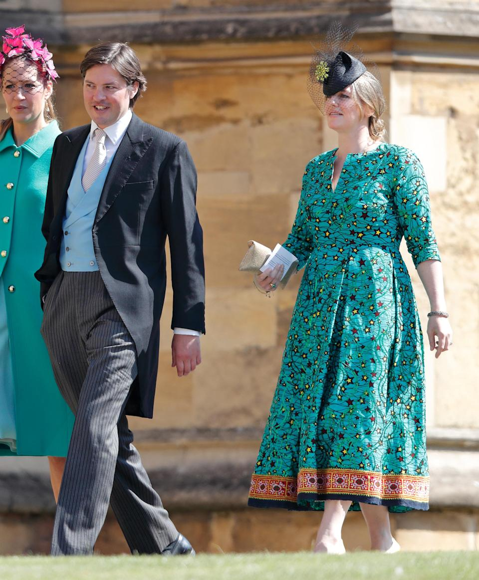 Laura is pictured at Prince Harry and Meghan Markle's wedding in May. Photo: Getty Images