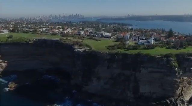 Vaucluse is one of the suburbs being affected as effluent pours into the harbour. Photo: 7 News