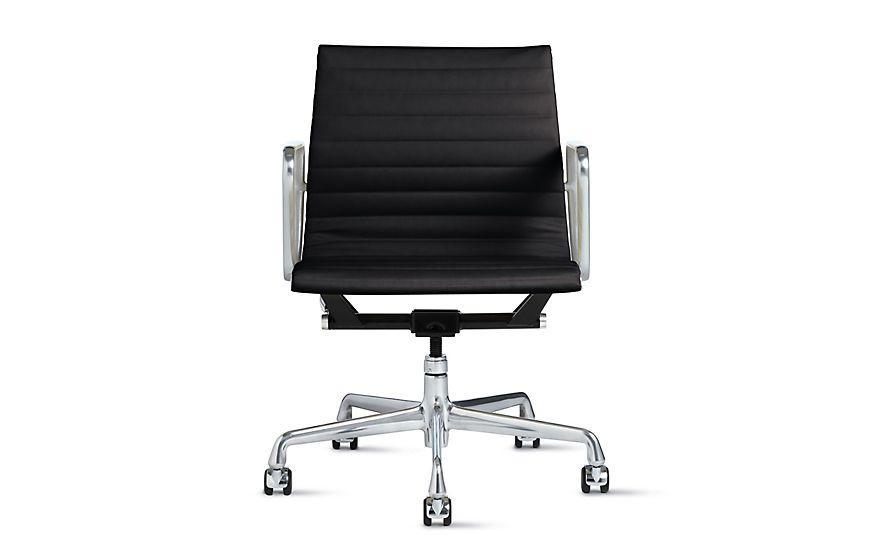 """<p><strong>Charles and Ray Eames</strong></p><p>dwr.com</p><p><strong>$1695.00</strong></p><p><a href=""""https://go.redirectingat.com?id=74968X1596630&url=https%3A%2F%2Fwww.dwr.com%2Fworkspace-chairs%2Feames-aluminum-group-management-chair%2F294683.html&sref=https%3A%2F%2Fwww.redbookmag.com%2Fbeauty%2Fg37132432%2Fchair-types-styles-designs%2F"""" rel=""""nofollow noopener"""" target=""""_blank"""" data-ylk=""""slk:Shop Now"""" class=""""link rapid-noclick-resp"""">Shop Now</a></p><p>The Eameses most famous foray into office furniture was born of a suite of lightweight designs created for Eero Saarinen and Alexander Girard to use in a home for J. Irwin Miller in 1958. Over 60 years later, it's still in use in offices around the world—in spite of the price! </p>"""