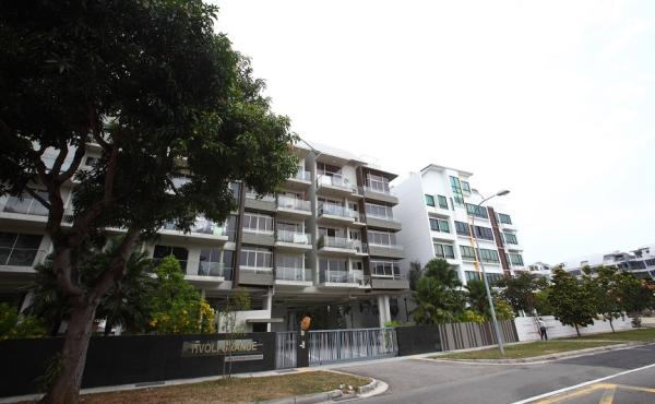 The unit is currently leased out to a Singaporean family at $3,400 a month, says PropNex's See