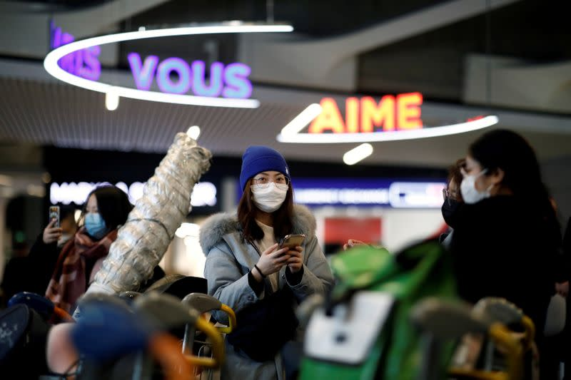 Air France joins China flight suspensions as virus unnerves cabin crew