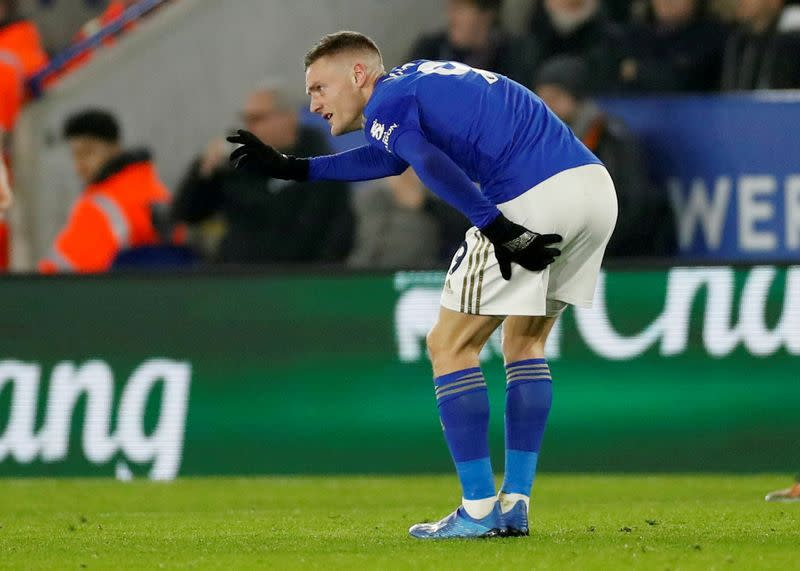 Leicester's Vardy set to return for Villa semi - Rodgers