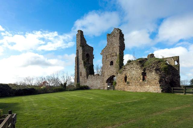 <p>Sheriff Hutton Castle in North Yorkshire. (Photo: Caters News) </p>