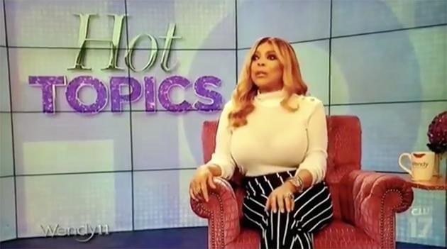 Wendy Williams made the comments on US chat show (Photo: The CW)