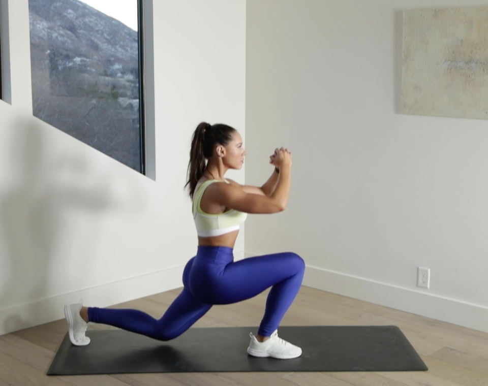 Reverse Lunge to Knee-Up