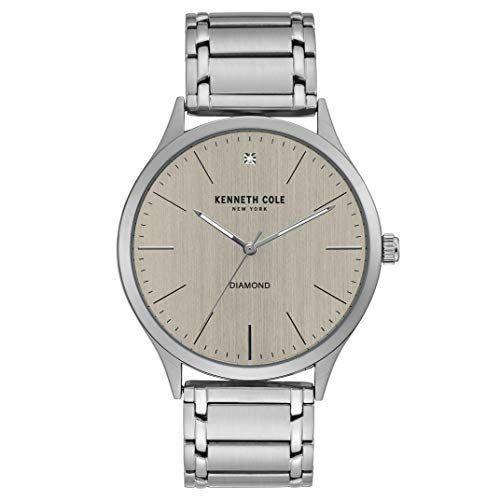 """<p><strong>Kenneth Cole New York</strong></p><p>amazon.com</p><p><strong>$44.99</strong></p><p><a href=""""https://www.amazon.com/dp/B087C82MNM?tag=syn-yahoo-20&ascsubtag=%5Bartid%7C2139.g.36673991%5Bsrc%7Cyahoo-us"""" rel=""""nofollow noopener"""" target=""""_blank"""" data-ylk=""""slk:BUY IT HERE"""" class=""""link rapid-noclick-resp"""">BUY IT HERE</a></p><p>Wear it with your favorite structured suit or with a breezy button down for a casual dinner; either way, Kenneth Cole's stainless steel watch is a versatile find you'll get tons of mileage out of. The push-button deployment clasp makes it a cinch to take on and off—no more fumbling with tricky closures. <br></p>"""