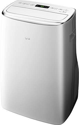 """<p><strong>LG</strong></p><p>amazon.com</p><p><strong>$741.22</strong></p><p><a href=""""http://www.amazon.com/dp/B07NC2QM6V/?tag=syn-yahoo-20&ascsubtag=%5Bartid%7C10060.g.3066%5Bsrc%7Cyahoo-us"""" target=""""_blank"""">Shop Now</a></p><p>LG's appliance was the most powerful of the three tested.  We set the temperature and fan speed and before we could even return to our notes, it was blowing ice cold air. And the automatic movement of the discharge louvers ensured even temperature distribution at the target. It held its temperature almost as well as the Honeywell. Given those features, the appliance's large BTU number, we think the LG is well suited for large apartments or office areas that might need extra cooling capacity due to digital equipment. In terms of maintenance, the LG was the best of the three, with both filters' grills requiring no tools for removal. The top grill is particularly well designed with an easy lift off design.</p><p><strong>Modes:</strong> Cool, fan only, dehumidify<br><strong>Cord length:</strong> 54 inches<br><strong>Hose, fully extended:</strong> 57 inches<br><strong>Electrical /BTU:</strong> 12 amps, 14,000 BTU<br><strong>Condensate removed:</strong> 10 tablespoons</p>"""