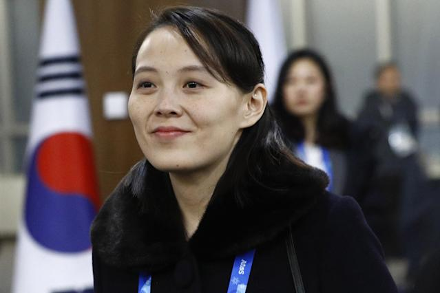 People are fascinated by Kim Yo Jong, the little sister of North Korean leader Kim Jong Un. (Photo: Getty Images)