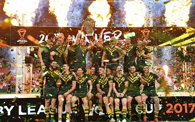 Australia are the current men's world champions, winning the 2017 World Cup - AAPIMAGE