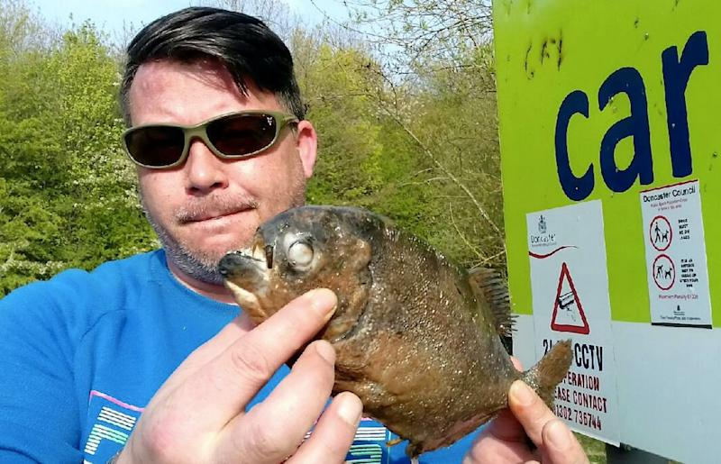 Locals are shocked by the discovery of the fish near where children play (SWNS)