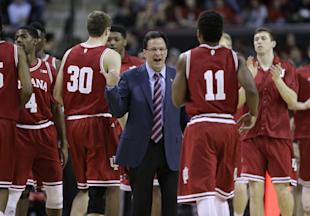 Will Tom Crean and the Hoosiers be contenders this season? (AP file photo)