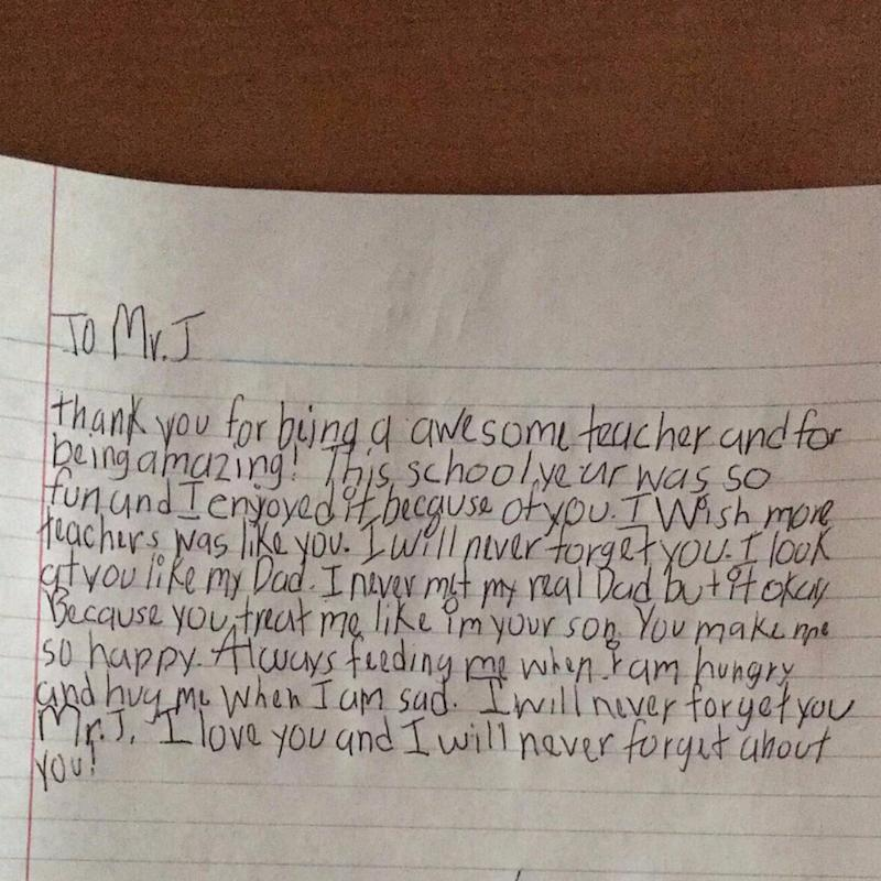 The 1 Thing This Boy Wants His Teacher to Know Will Leave You in Tears