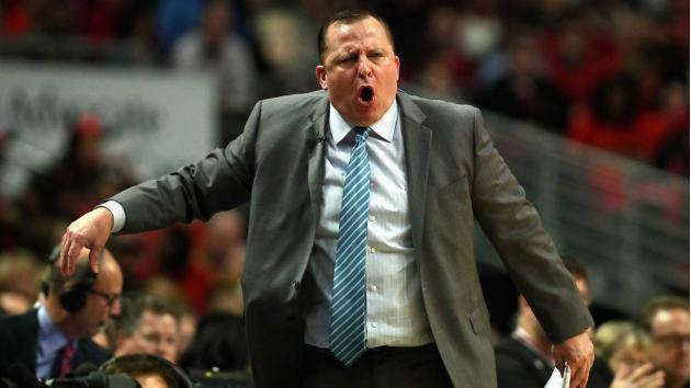 <p>Jimmy Butler reveals Tom Thibodeau's angry halftime speech filled with F-bombs</p>