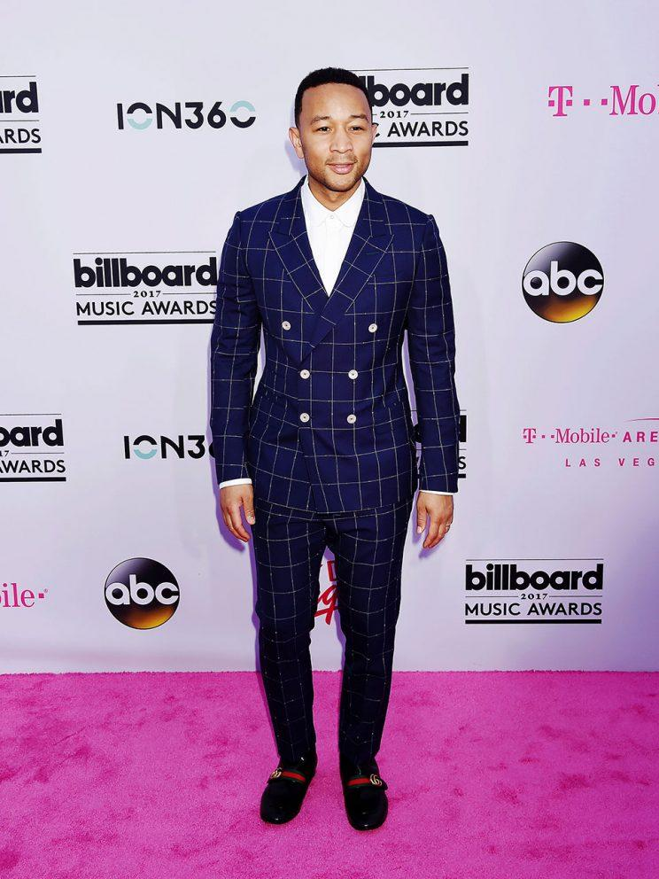 John Legend at the Billboard Music Awards.