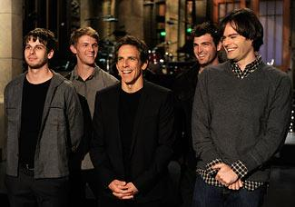 """Ben Stiller returned to his sketch-comedy roots on this week's """"SNL"""" (Dana Edelson/NBC)"""