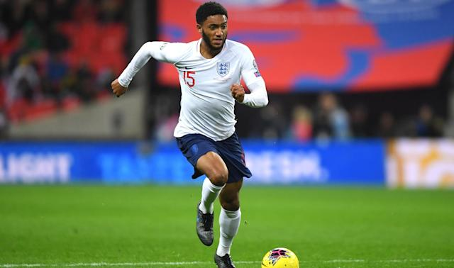 England fans were wrong to boo Joe Gomez on Thursday, according to Raheem Sterling.