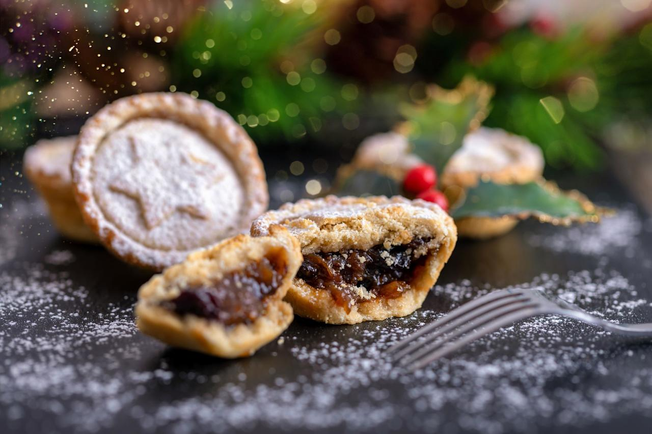 """<p>If you're anything like us, <a href=""""https://www.goodhousekeeping.com/uk/christmas/"""" target=""""_blank"""">Christmas</a> only really gets underway when you tuck into the first <a href=""""https://www.goodhousekeeping.com/uk/food/recipes/g549980/mince-pies-recipes/"""" target=""""_blank"""">mince pie</a> of the season. Nothing gets you into the festive spirit quite like biting into buttery, crumbly pastry packed with temptingly spiced, juicy mincemeat with a good dash of <a href=""""https://www.goodhousekeeping.com/uk/drink-taste-tests/"""" target=""""_blank"""">booze</a>. </p><p>These days, mince pies can be found on supermarket shelves as early as October. It's no wonder then that we Brits manage to scoff our collective way through more than 78million mince pies each year. Here at the Good Housekeeping Institute we don't quite make our way through that many to find the best mince pies, but our panel did munch its way through 15 classic mince pies this year, assessing the appearance, aroma, taste and texture of each in search of the perfect<a href=""""https://www.goodhousekeeping.com/uk/christmas/christmas-recipes/g570722/easy-christmas-cookies-biscuits-recipes/"""" target=""""_blank"""">Christmas treat. </a><br><br>There's something for everyone in the best mince pies category: some are packed with zesty flavours, while others are sweeter thanks to a generous helping of vine fruit, cranberries or glacé cherries, and some are infused with brandy, port and Cognac. Whatever your preference, you won't go wrong with our winning mince pie. Achieving a high score of 90/100, it's packed with Christmassy flavour and is an undeniable crowd pleaser. <br><br>Looking for something a little bit different this year? We've also tested <a href=""""https://www.goodhousekeeping.com/uk/food/food-reviews/g29140204/mince-pies-flavours/"""" target=""""_blank"""">mince pies with a twist</a> on the traditional flavours.<br> </p><p>All prices are subject to change.<br><br></p>"""