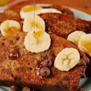 """<p>Be the brunch superstar you were born to be.</p><p>Get the <a href=""""https://www.delish.com/uk/cooking/recipes/a28831362/banana-bread-french-toast-recipe/"""" rel=""""nofollow noopener"""" target=""""_blank"""" data-ylk=""""slk:Banana Bread French Toast"""" class=""""link rapid-noclick-resp"""">Banana Bread French Toast</a> recipe.</p>"""