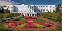 """<p>Southern gentility is alive and well at the venerable <a href=""""https://go.redirectingat.com?id=74968X1596630&url=https%3A%2F%2Fwww.tripadvisor.com%2FHotel_Review-g59644-d100352-Reviews-The_Greenbrier-White_Sulphur_Springs_West_Virginia.html&sref=https%3A%2F%2Fwww.redbookmag.com%2Fabout%2Fg34149750%2Fmost-historic-hotels%2F"""" rel=""""nofollow noopener"""" target=""""_blank"""" data-ylk=""""slk:Greenbrier"""" class=""""link rapid-noclick-resp"""">Greenbrier</a>, a 6,500-acre estate in West Virginia's Allegheny Mountains that dates back to 1778. The property features 710 rooms, restaurants, numerous activities (golf, skeet shooting, bowling, biking) — even a never-used underground bunker built during the Cold War to house Congress. </p>"""