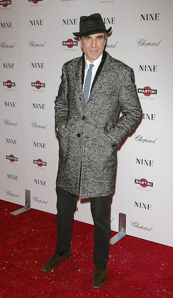 "<a href=""http://movies.yahoo.com/movie/contributor/1800025261"">Daniel Day-Lewis</a> at the New York City screening of <a href=""http://movies.yahoo.com/movie/1810053986/info"">Nine</a> - 12/15/2009"