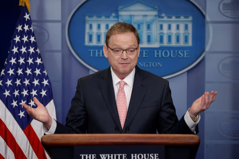 White House adviser says U.S. employment to turn around soon, more stimulus on the way