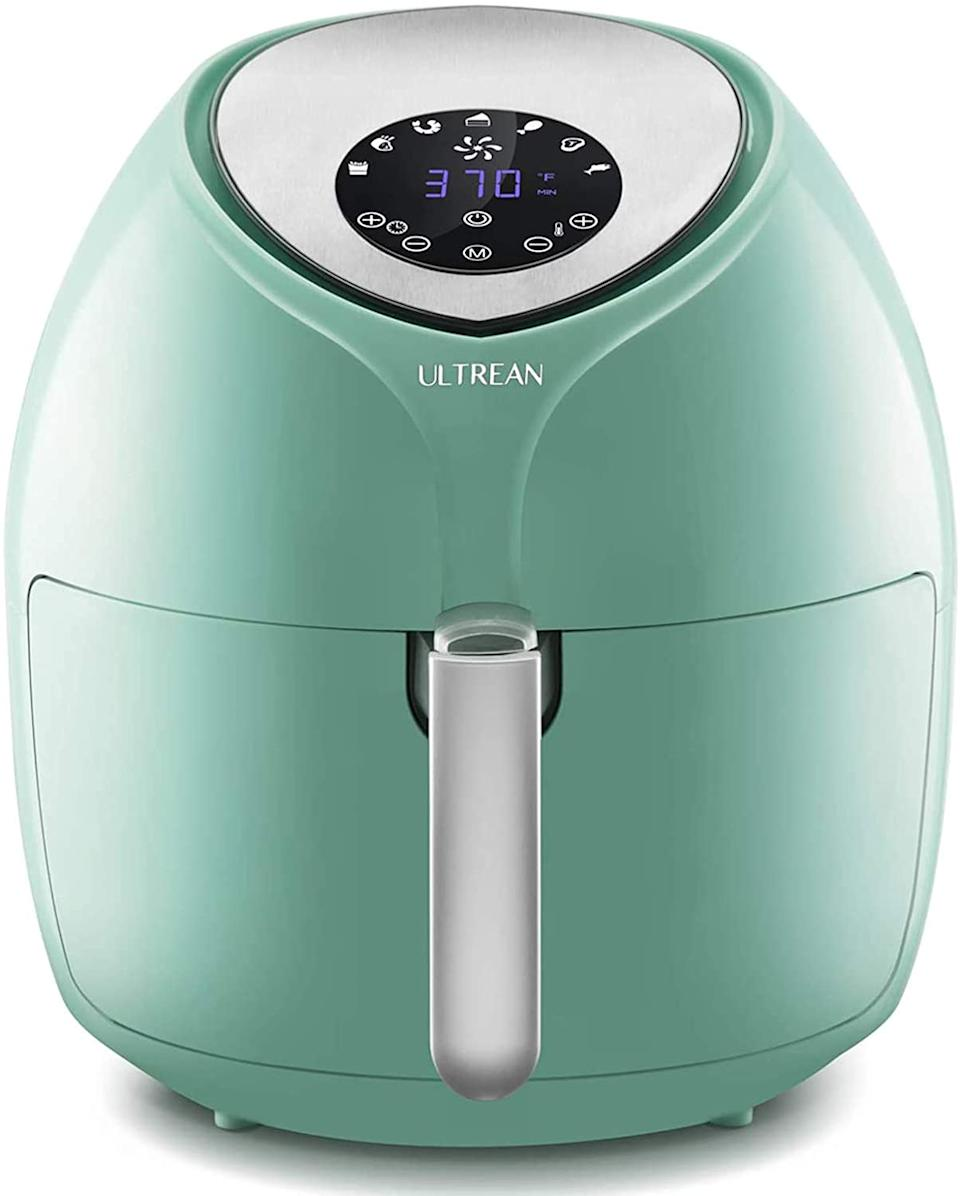 The Ultrean 8.5 Quart Air Fryer is available in four colours - and is on sale for just $106.
