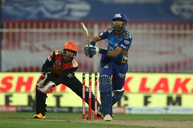 MI allrounder Krunal struggled to impact the game in any facet. [PC: iplt20.com]