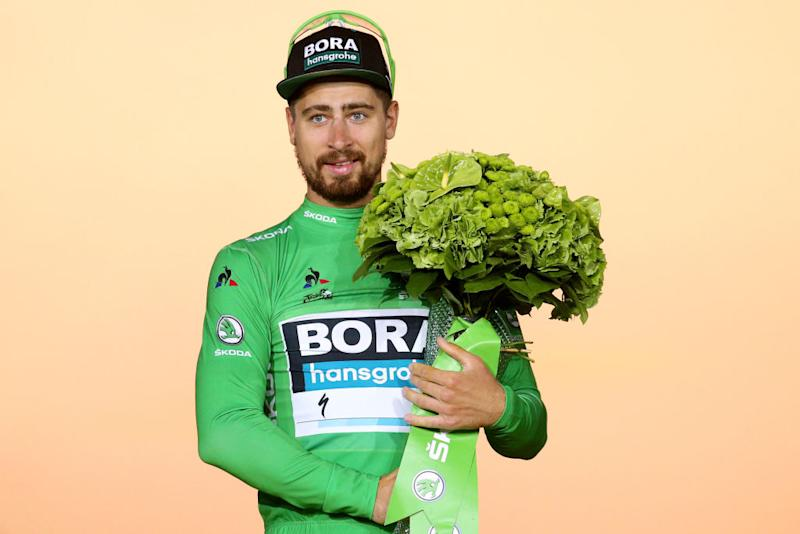 Peter Sagan Tour de France green jersey