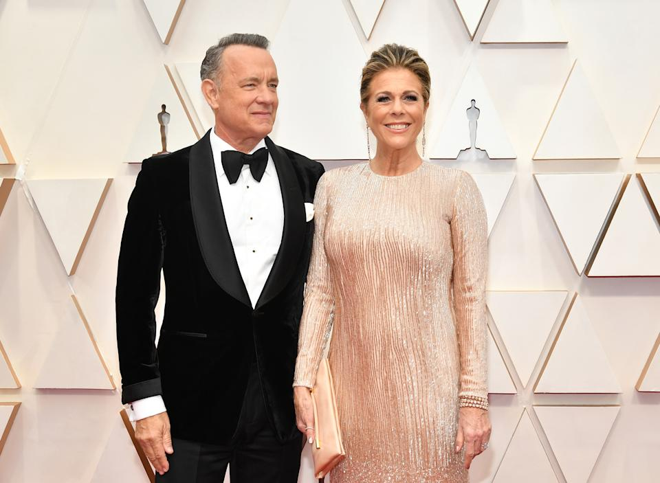 Tom Hanks and Rita Wilson announced they were battling COVID-19 on March 11, 2020. (Photo: Amy Sussman/Getty Images)