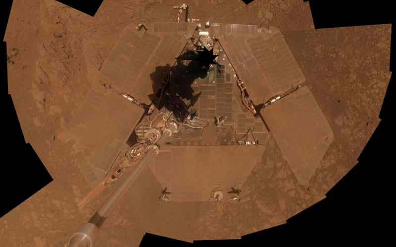 The Opportunity rover on Mars - AFP