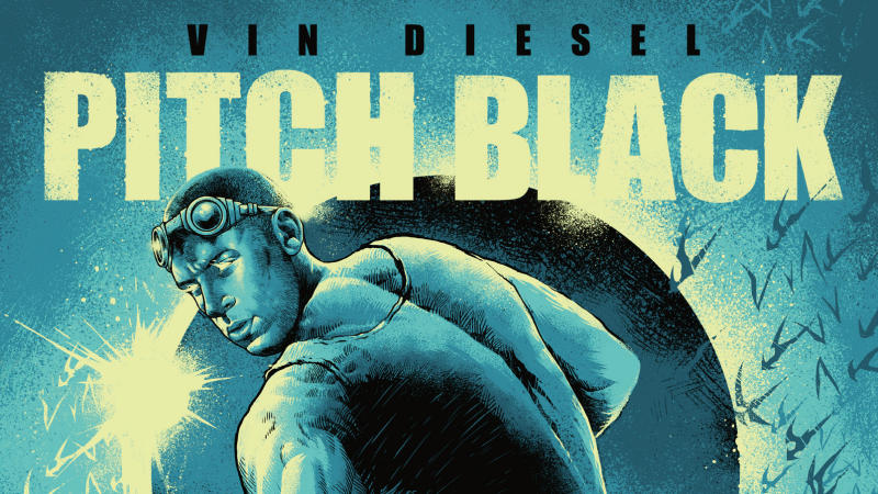 'Pitch Black' has been restored for a new 4K edition. (Credit: Arrow Video)