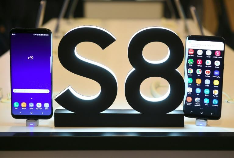 The Samsung Galaxy S8 smartphone is the firm's first major launch since last year's humiliating withdrawal of the Galaxy Note 7 over exploding batteries, which hammered its once-stellar reputation