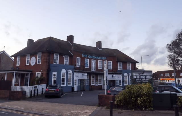 The Grenadier pub in Hove, East Sussex, one of the locations visited by Steve Walsh
