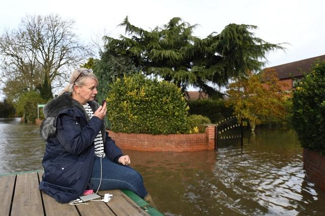 Pam Webb near her home in Fishlake, Doncaster