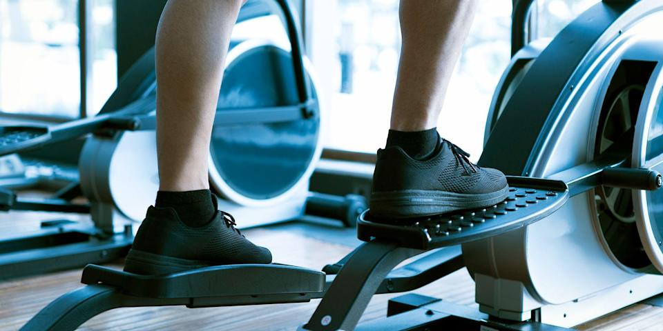 """<p>Ready to step up your fitness and torch some serious calories? Do it figuratively and literally with one of these stair-stepper machines. These cardio machines are built around one of the most functional movements: stepping.</p><p>""""Functional movement training offers so many benefits, from improved posture, gait, and stability to increased muscle memory, increased bone density, and working multiple muscle groups at once,"""" says Sergio Pedemonte, a certified personal trainer and owner of <a href=""""https://www.yourhousefitness.com/"""" rel=""""nofollow noopener"""" target=""""_blank"""" data-ylk=""""slk:Your House Fitness"""" class=""""link rapid-noclick-resp"""">Your House Fitness</a>.</p><p>Plus, """"stairmasters and steppers allow you to get some resistance while doing your cardio,"""" says DJ Zmachinski, assistant personal training manager at <a href=""""https://www.lifetime.life/"""" rel=""""nofollow noopener"""" target=""""_blank"""" data-ylk=""""slk:Life Time"""" class=""""link rapid-noclick-resp"""">Life Time</a>. """"It's like doing hundreds of bodyweight step-ups on small steps."""" </p><p>The uphill aspect of the stepper, though, makes it more challenging than a treadmill, while cutting out the jarring, repetitive impact of running. """"This is great for folks recovering from injuries or with pre-existing joint pain, especially in their knees or hips,"""" says Pedemonte.</p><p>Stair climbers target your calves, quads, hamstrings and the three major glute muscles for an all-in-one lower body workout. """"You can go fast or slow — most people usually like to go slower for a longer duration,"""" says Zmachinski. """"I usually recommend starting at 5 minutes and then adding a minute or two each week."""" </p><p>Like a tread, it can be monotonous, but that doesn't mean you can phone your workout in. """"Make sure you use good posture, and don't hunch over loading all your weight on the machine,"""" says Zmachinski.</p><p>From beginner options to more advanced models, there's a stair-stepper that's best for your body's needs. Find the best one to help y"""