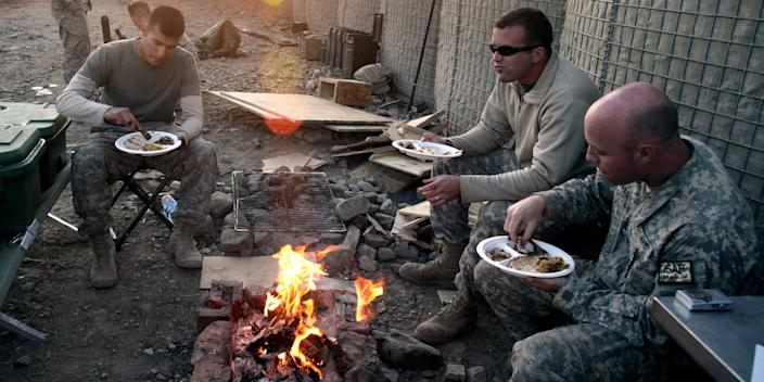 US Army thanksgiving Afghanistan