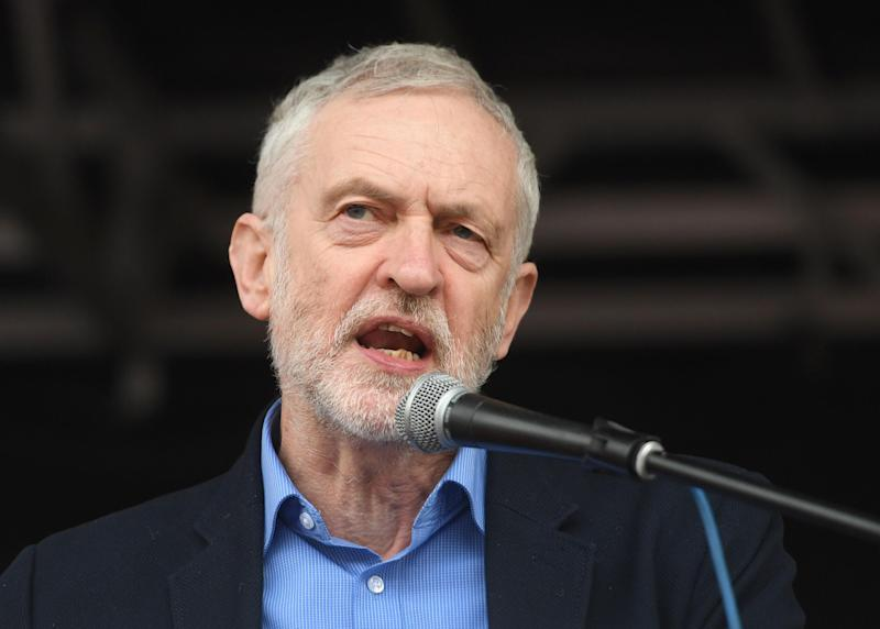 Jeremy Corbyn will make the speech in Birmingham: PA