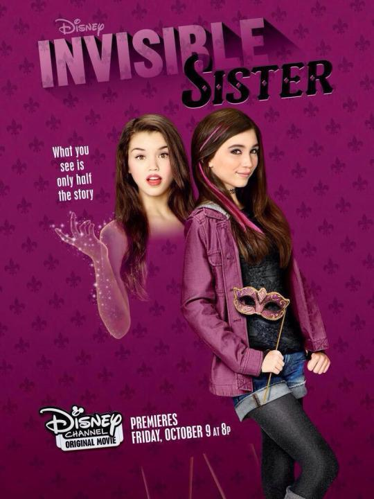 <p>It's every loser kid's dream: A science project accidentally turns a girl's popular older sister INVISIBLE. Now you know what it feels like, Molly.<br><br><em>(Credit: Disney Channel)</em> </p>