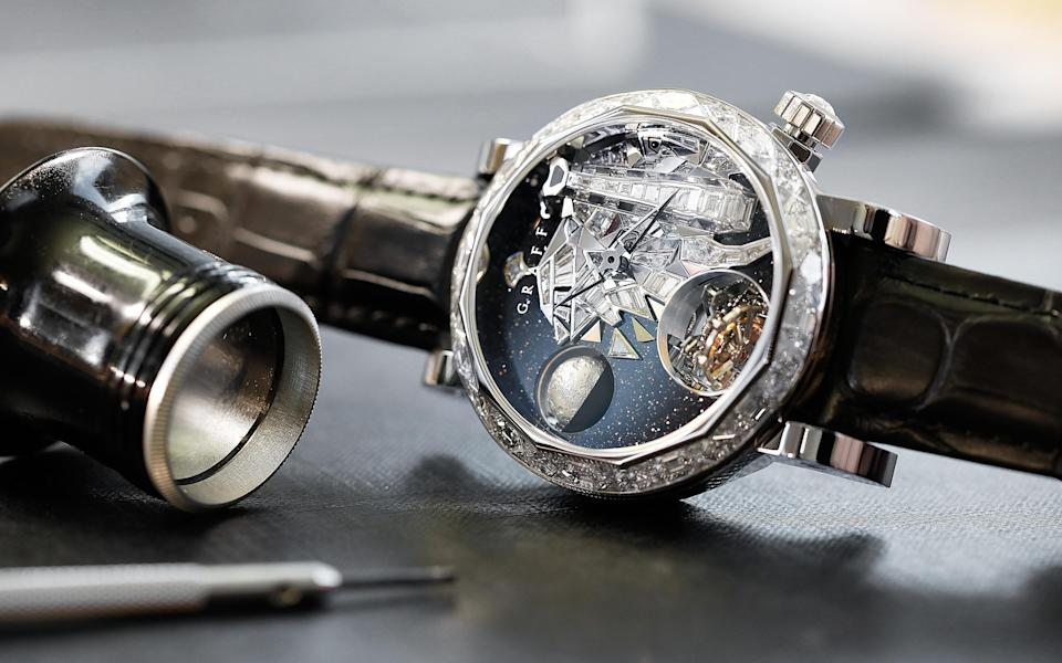 Graff's newly unveiled watches are designed to highlight the plight of some of the rarest creatures on the planet - Rights in perpetuity