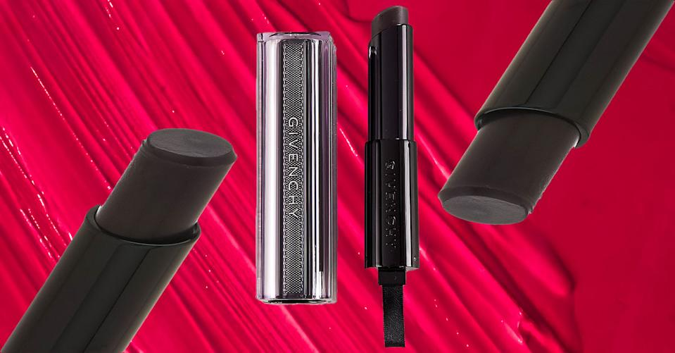 This Givenchy lipstick starts black but transforms into your dream color. (Photo: QVC)