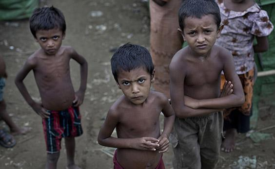 Myanmar ranked third highest risk of genocide, with increased violence against the Muslim minority Rohingya placing them at high risk of a mass killing: AP