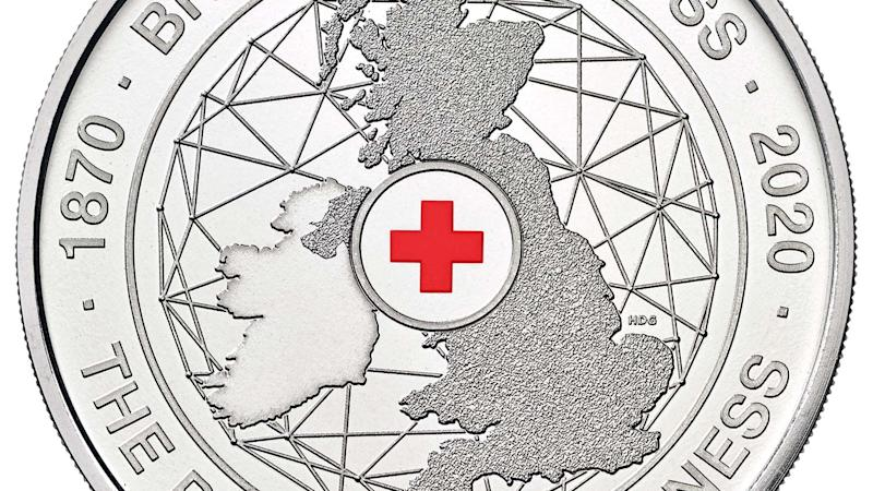 Royal Mint launches coin to celebrate Red Cross anniversary