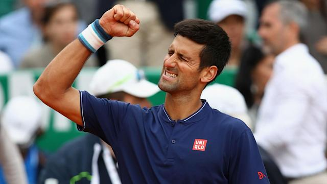 Gilles Simon fell just short against Novak Djokovic, who will continue to work for a third Monte Carlo Masters.