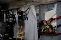 The Wider Image: On trial on riot charges, Hong Kong newlyweds prepared for life apart