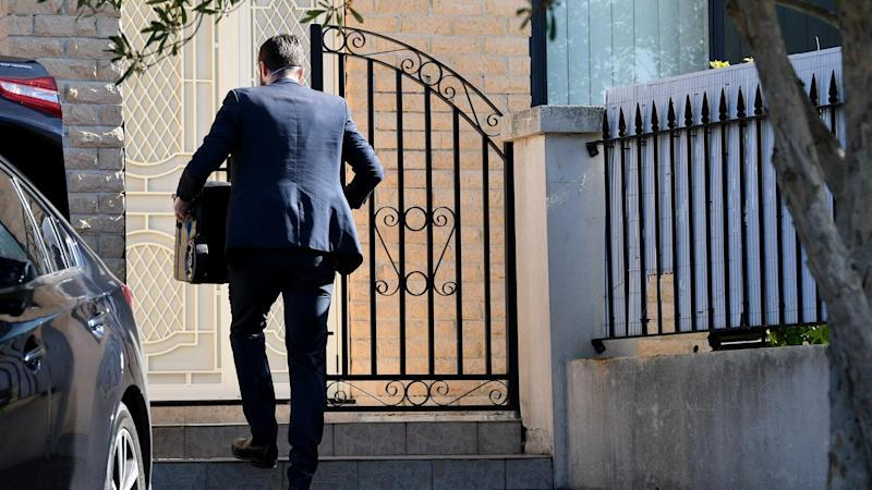 Federal officers have searched the Rockdale home of NSW upper house Labor MP Shaoquett Moselmane