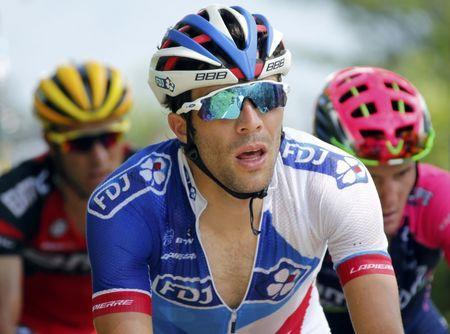 Thibaut Pinot, de FDJ. Picture Supplied by Action Images.