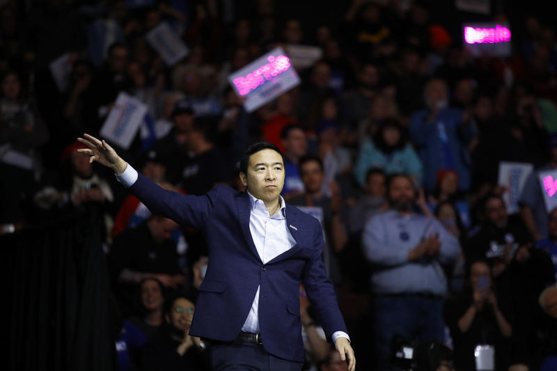 Andrew Yang makes his stand in New Hampshire