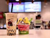 """<p><strong><a href=""""https://www.yelp.com/biz/kung-fu-tea-north-bethesda"""" rel=""""nofollow noopener"""" target=""""_blank"""" data-ylk=""""slk:Kung Fu Tea"""" class=""""link rapid-noclick-resp"""">Kung Fu Tea</a>, North Bethesda</strong></p><p>""""Love KFT! The staff are pretty friendly at the Bethesda location. I usually get the Winter Melon milk green tea with bubbles or herbal jelly and less sugar, yummy every time! I've also tried the Oreo wow milk and I enjoyed that but it was a bit to sweet for me. I always say I'm going to try other things but once I'm there I go right back to my fav lol!"""" - <a href=""""https://www.yelp.com/user_details?userid=8HlHCD2UhMOCIb_Je-7MOw"""" rel=""""nofollow noopener"""" target=""""_blank"""" data-ylk=""""slk:Rasheda"""" class=""""link rapid-noclick-resp"""">Rasheda</a> </p><p>Photo: Yelp/<a href=""""https://www.yelp.com/biz_photos/kung-fu-tea-north-bethesda?select=D3COfwZtK7m7aIyNche_UQ"""" rel=""""nofollow noopener"""" target=""""_blank"""" data-ylk=""""slk:Connie Y."""" class=""""link rapid-noclick-resp"""">Connie Y.</a></p>"""